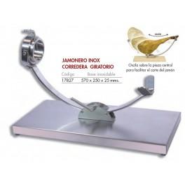 JAMONERO PROFESIONAL OSCILANTE BASE INOXIDABLE