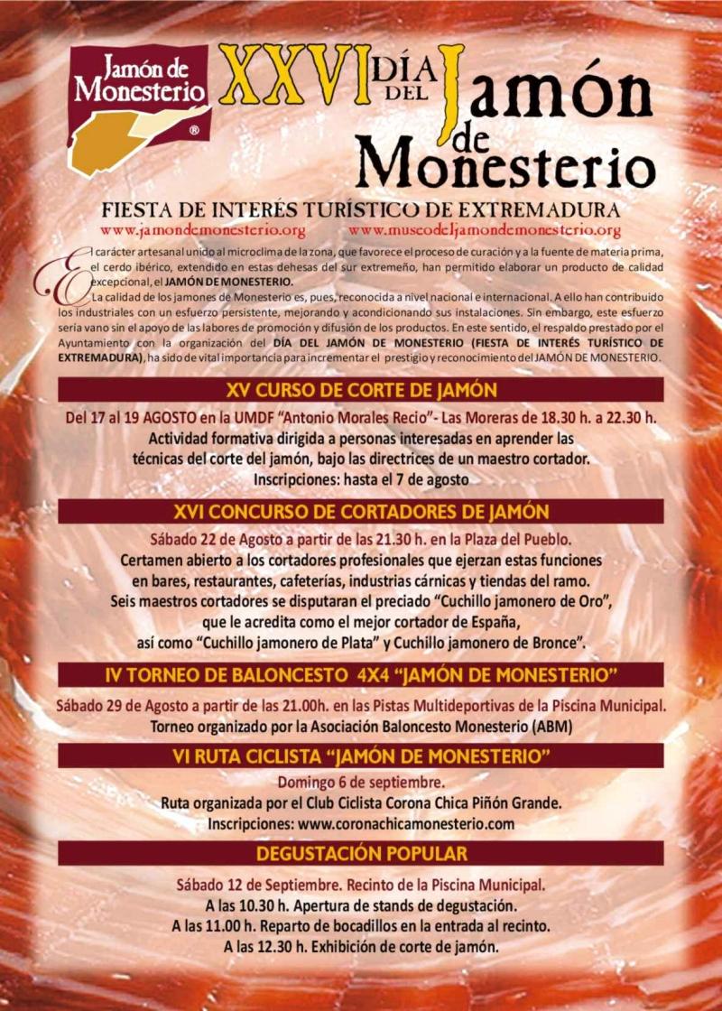 Dia del Jamon 2015 Monesterio